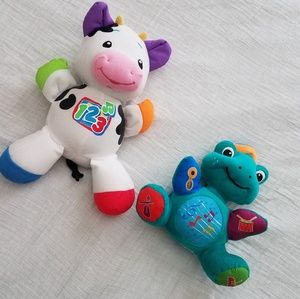 Laugh and Learn Cow & Turtle Press and Play